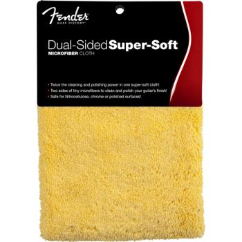 Fender Super-Soft Dual-Sided Paño de microfibra