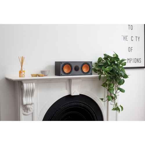 monitor audio monitor c150 altavoz central negro conexiones