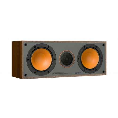 monitor audio monitor c150 walnut altavoz central
