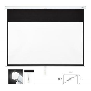 Fonestar PPMA-16100-BA Pantalla de proyección manual