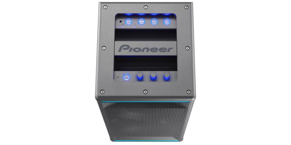 pioneer club5 gris altavoz autoamplificado sistema audio club iluminacion