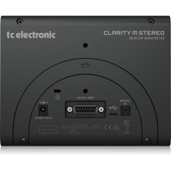 TC Electronic CLARITY M STEREO Medidor de Audio