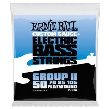 Ernie Ball 2804 Cuerdas Bajo Entorchado Plano, Group II 50-105