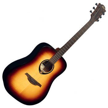 LAG T70D-BRB Guitarra Acústica Formato Dreadnought Serie Tramontane