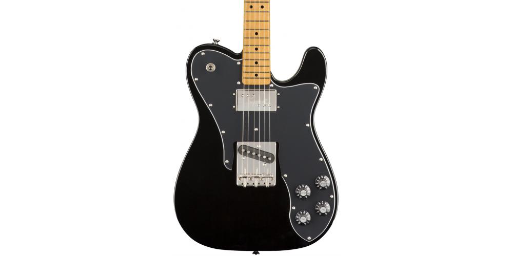 Squier by Fender SQ CV 70s TELE CSTM MN BLK