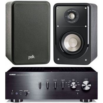 Yamaha AS301 Black+Polk audio S15 Conjunto Audio