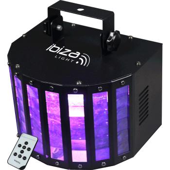 Ibiza Light BUTTERFLY-RC Efecto Butterfly de 6 Led Con Mando Distancia