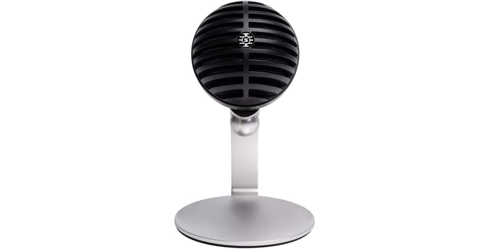 SHURE MV5C USB Microfono digital de condensador acabado gris con cable USB