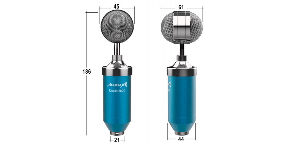 audibax dublin 3000 micro medidas