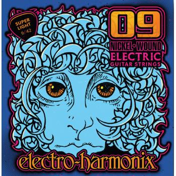 Electro Harmonix SET 6 CUERDAS CALIBRE 09