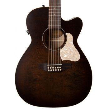 Art & Lutherie Legacy 12 Bourbon Burst CW Q1T. Guitarra Acústica de 12 Cuerdas
