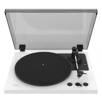 TEAC TN-175W White Giradiscos con Previo Phono. Cápsula Audio-Technica