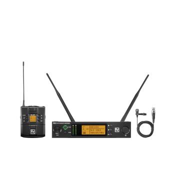 Electro-Voice RE3-BPCL-5H Micrófono Inalámbrico Lavalier Cardioide Banda 5H (560 MHz – 596 MHz)