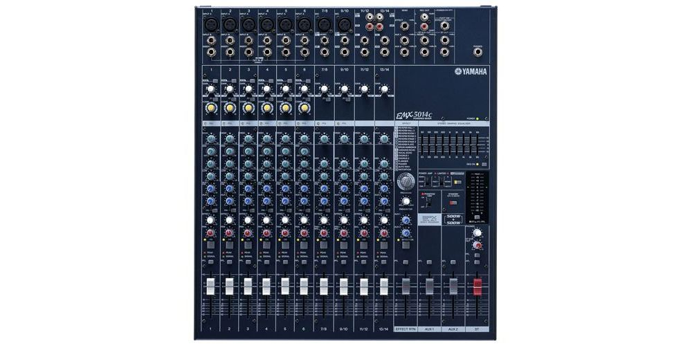 YAMAHA EMX-5014C Mezclador Autoamplificado 2x500w EMX5014C 14Ch