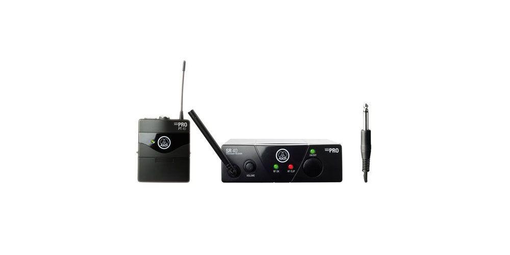 AKG WMS-40 MINI INSTRUMENTAL SET Microfono Inalambrico  Petaca ISM1
