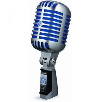 SHURE Super 55 de luxe  Micrófono Dinamico Vocal 55 super de luxe