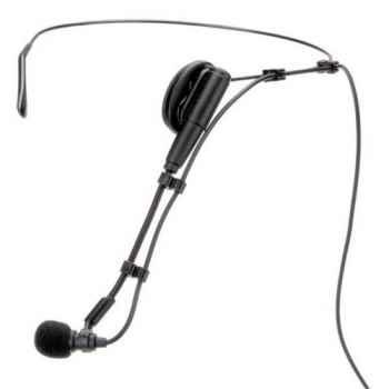 GEMINI HSL-4000 Combo Microfono Headset con Micro Lavalier Desmontabl