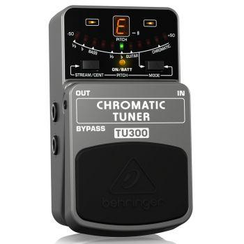 BEHRINGER TU300 Pedal  Guitarra Chroma Tuner Behringer TU-300