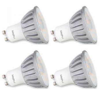 MEGALED KIT 4 Bombillas LED 3W 280 Lum. Luz Calida