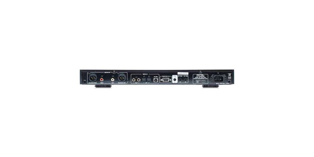 rotel rdd1580 bk conversor digital analogico conexiones