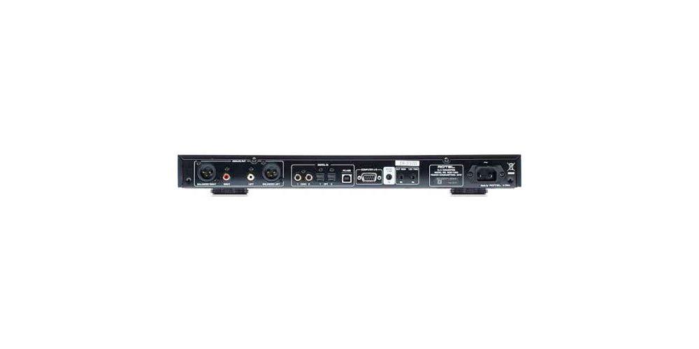 ROTEL RDD-1580 BK Conversor Digital Analogico