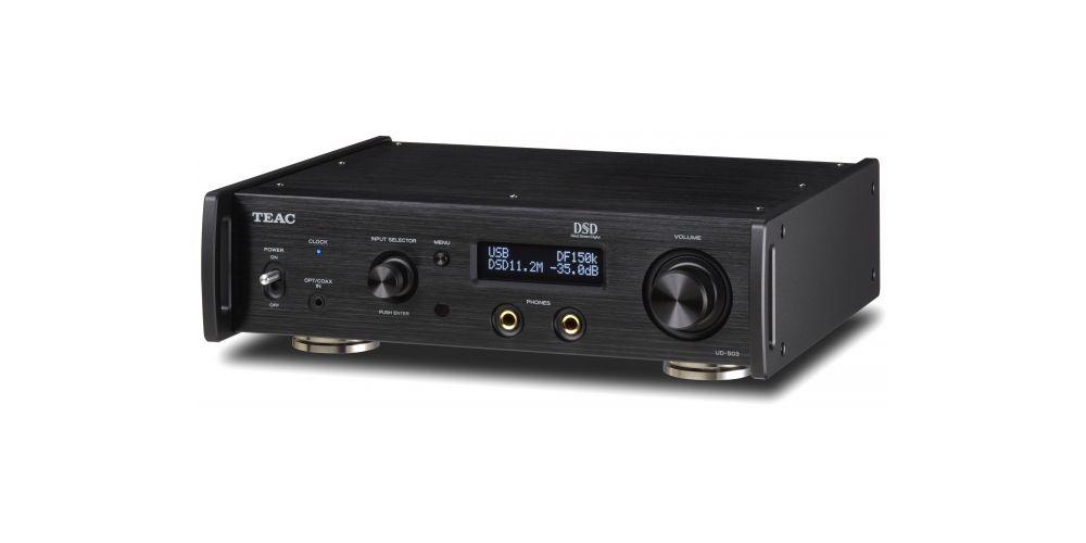 TEAC UD-503 BK Conversos D/A , DUAL/MONO, USB Streaming, Negro