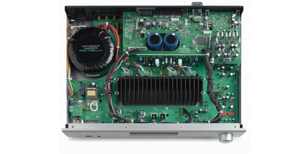 rotel a12bk amplificador 60w