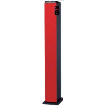 NEVIR 834 TBTU Torre De Sonido Bluetooth Rojo