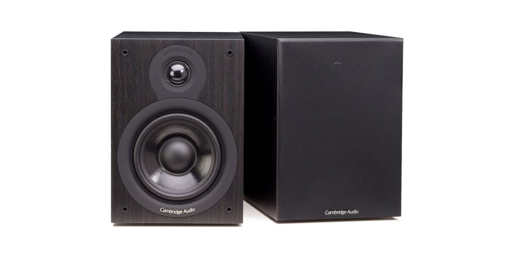 cambridge sx50 black altavoces estanteria