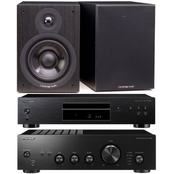 Pioneer A-10AEK + PD-10AE-K + Cambridge SX50-BK