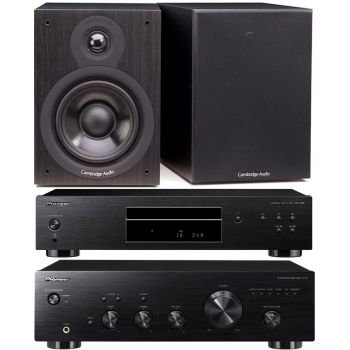 Pioneer A-10K + PD-10AE-K + Cambridge SX50-BK