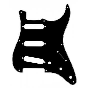 Fender Golpeador Stratocaster S/S/S, 8-Hole Mount negro