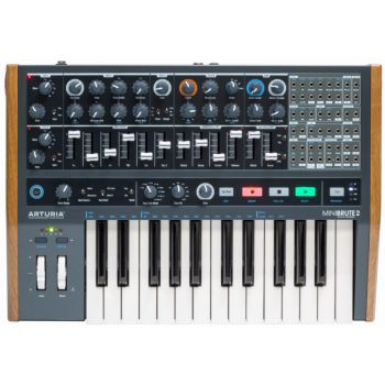 Arturia MiniBrute 2 Sintetizador monofónico analógico semi-modular
