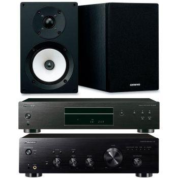 Pioneer A-20 K + PD10K+ Onkyo D055 Conjunto audio