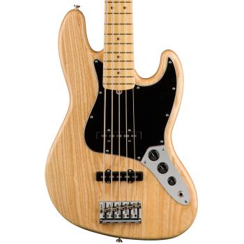 Fender American Pro Jazz Bass V MN Ash Natural