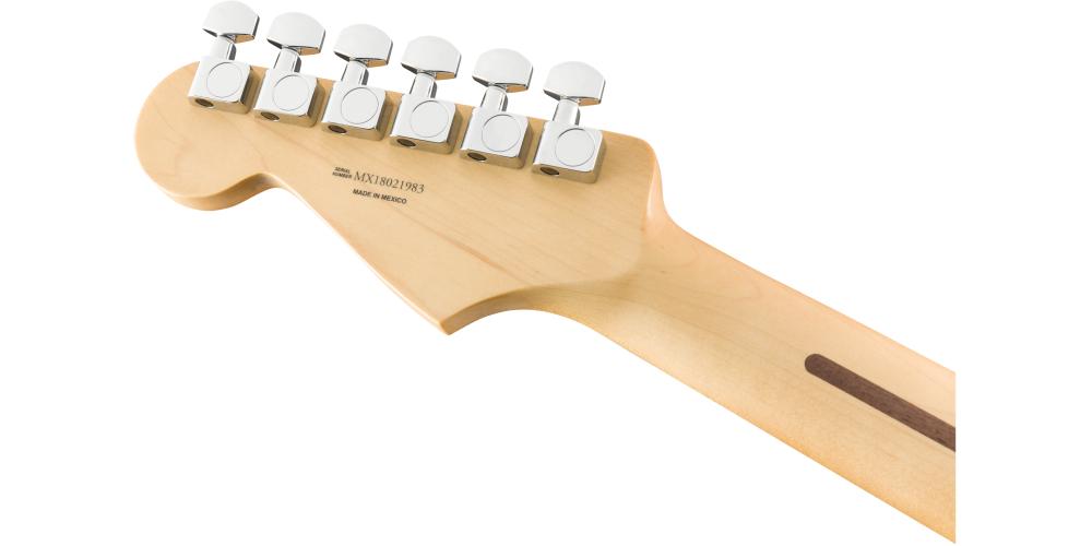 Fender Player Series Strat HSS MN BLK back mastil back