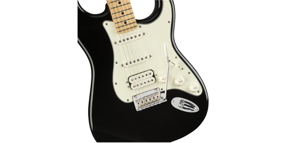 Fender Player Series Strat HSS MN BLK back pastilla