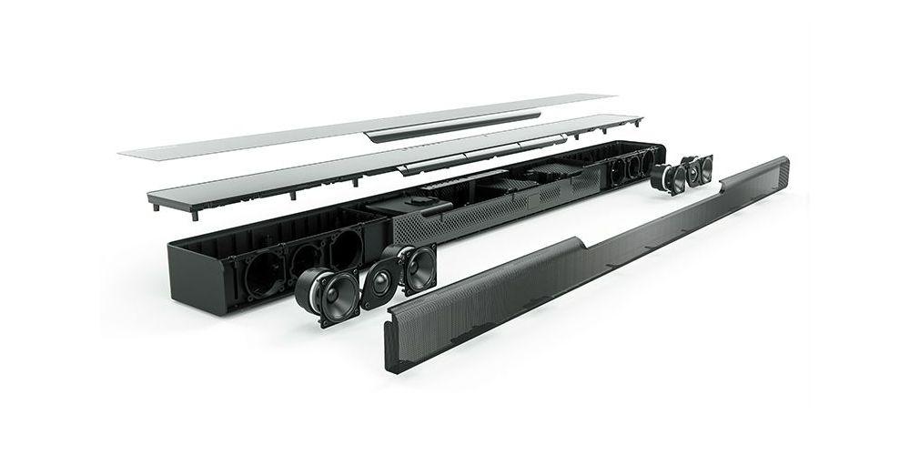 Yamaha Musiccast Bar 400 Barra sonido fabricacion