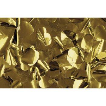 Antari Gold Metallic Confetti Hearts 1Kg