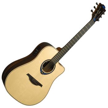LAG THV30DCE Guitarra Electro Acústica Formato Dreadnought con Cutaway Serie Tramontane