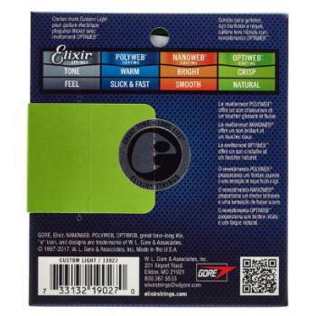 Elixir Optiweb 19027 Custom Light 09 -46