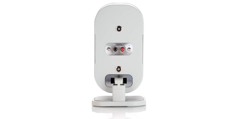 Monitor audio a10 white piano unidad conexiones