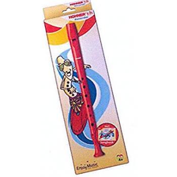 Hohner K95086 Flauta Kids Roja C/Libreto
