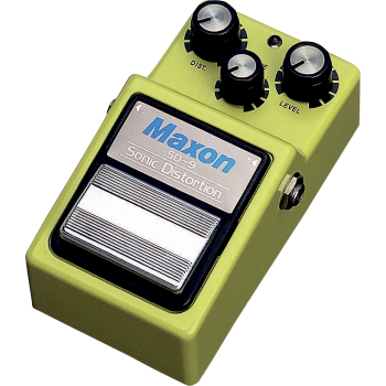 Maxon SD-9 Sonic Distortion Pedal Efectos Guitarra