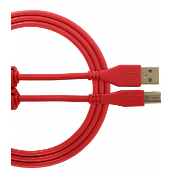 Udg U95002RD Ultimate Cable USB 2.0 A-B Red 2 Metros
