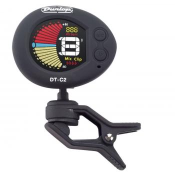 Dunlop DT-C2 Afinador Cromatico para Clavijero
