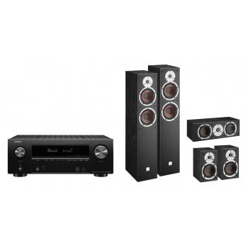 DENON AVR-X2600-H+Dali Spektor 6 cinema pack Black
