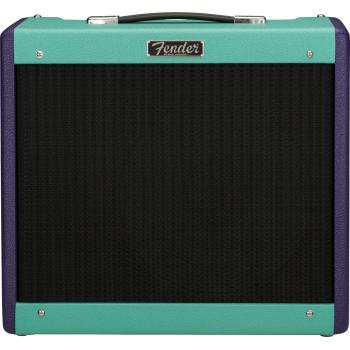 Fender LTD Blues Junior IV Eminence Cannabis Rex Purple Seafoam