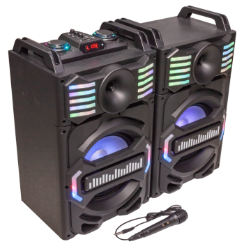 Party SPEAKY 700MKII Sistema de Sonorización Dj con Usb, Bluetooth, Micro Sd 700W