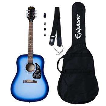 Epiphone Starling Acoustic Guitar Player Pack Starlight Blue Guitarra Acústica